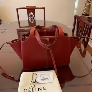 CELINE 2017 Small  Tri-Fold Shoulder bag